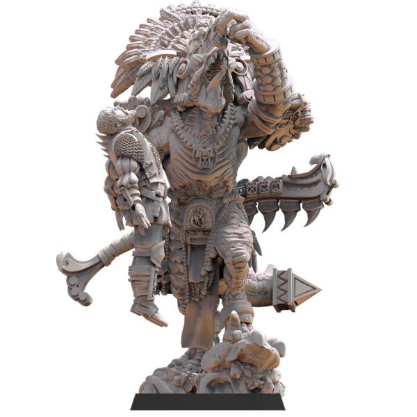 Lost Kingdom Miniatures - Ehecatl The Devourer