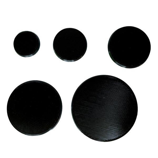 Bases rund magnetisch versch. größen